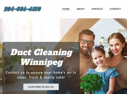https://www.airductcleaningwinnipeg.com/ website