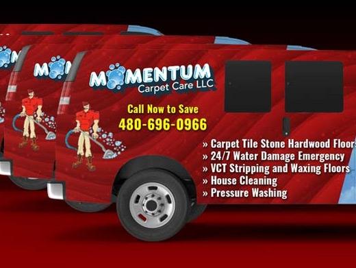https://www.momentumcarpetcare.com/ website